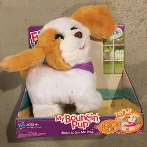 FurReal Friends My Bouncin' Pup NEW Box